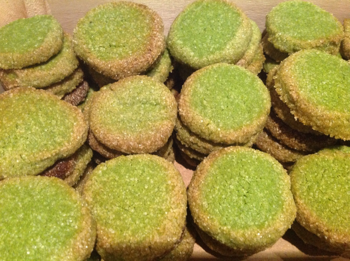 Matcha-Sablés - mal so, mal anders