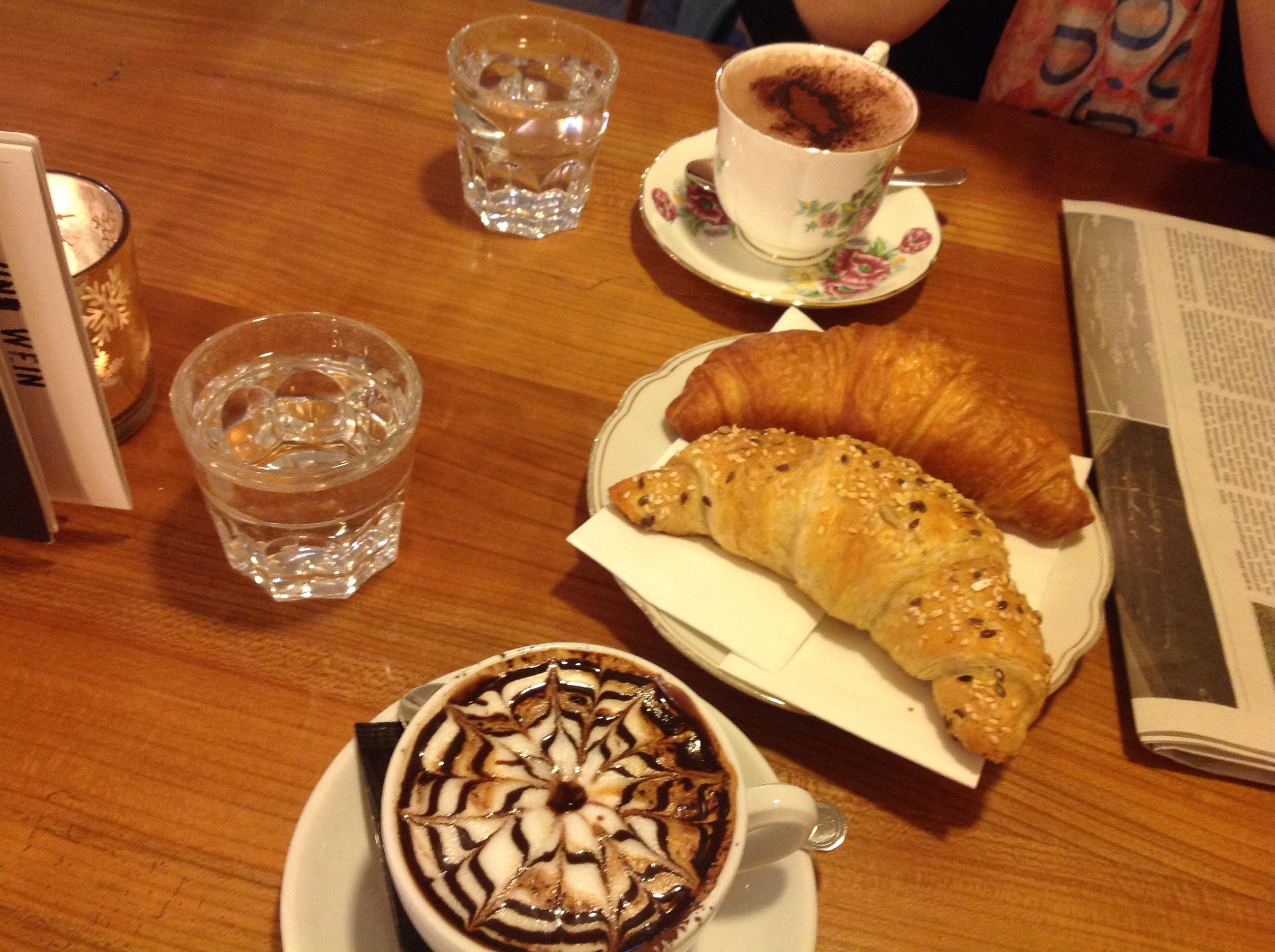 Kaffeepause; Tamar Venditti